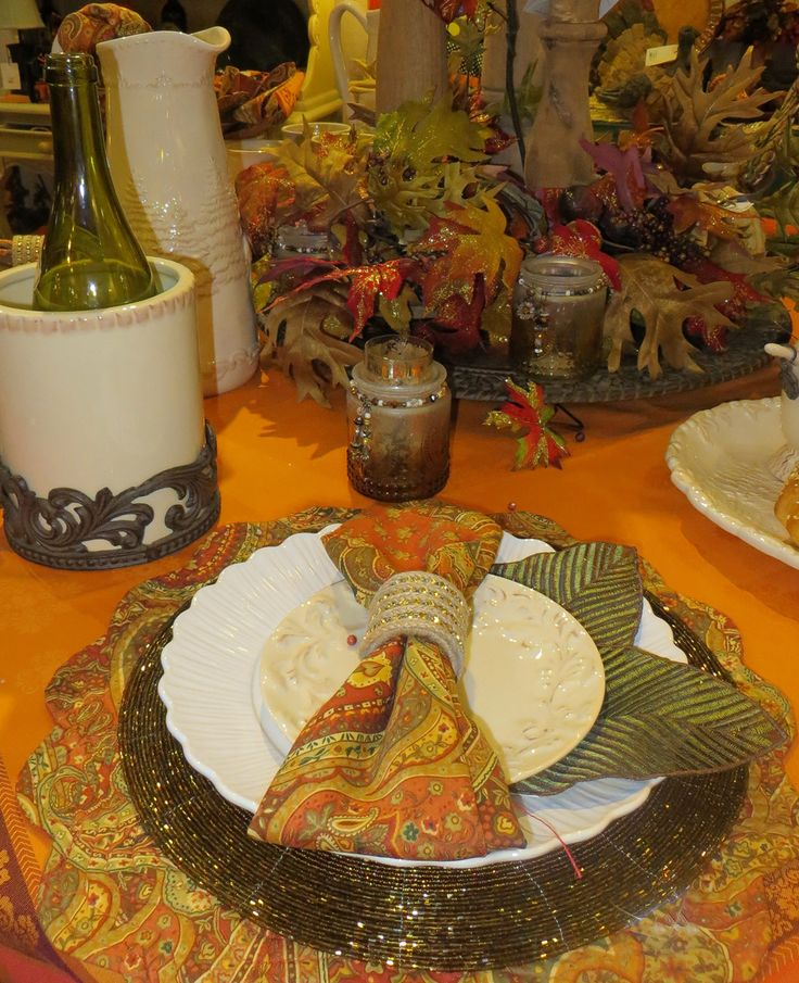 Fall Tablescape Tabletop Tablescapes Pinterest