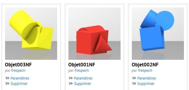 3D Blender vers Sculpteo