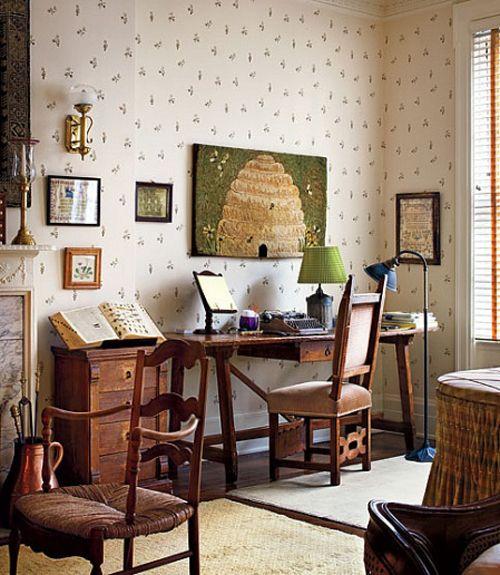Woody Allen's desk