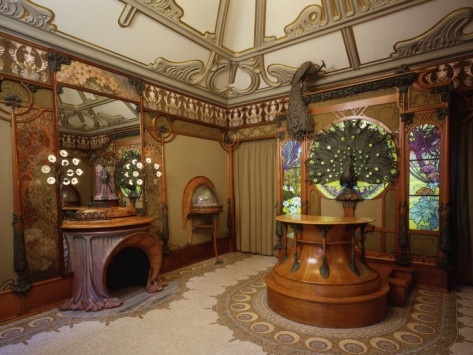 Art Nouveau Interior Design Home Decor
