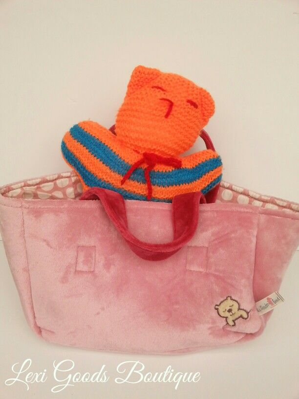 Little girl's plush doll/favorite teddy bear carrier. Helps develop imaginary play. Buy yours here:www.lexigoodsboutique.com.au