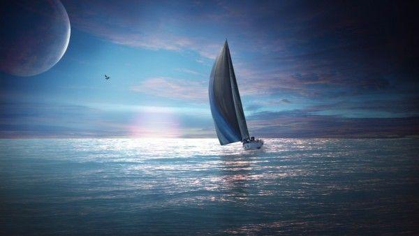 Ocean Sailing Netbook 3D Wallpaper - 3D Wallpapers UK - 3D Backgrounds For all…