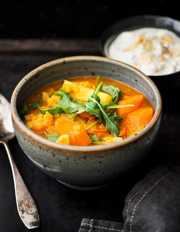 Linssi-porkkanakeitto   K-ruoka #kasvisresepti