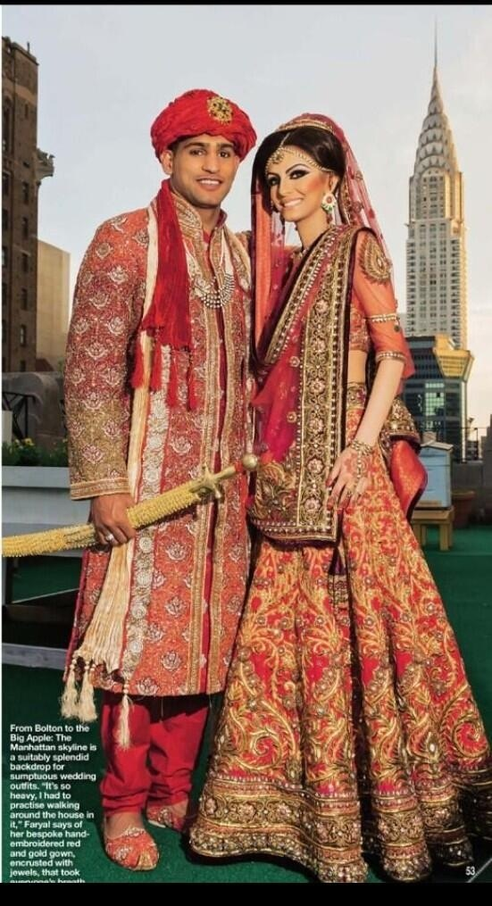 This is a wedding now! Perfect! MashAllah! Faryal looks stunning! She's so gorgeous! And her lehnga is beautiful! In Sha Allah i hope to have a wedding like this one day