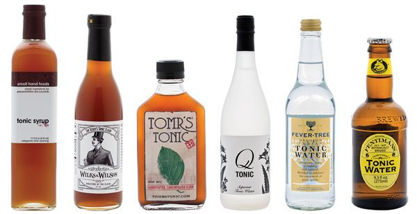 from SAVEUR Issue #166 Our favorite tonic waters and syrups for mixing in cocktails exhibit a range of flavors.