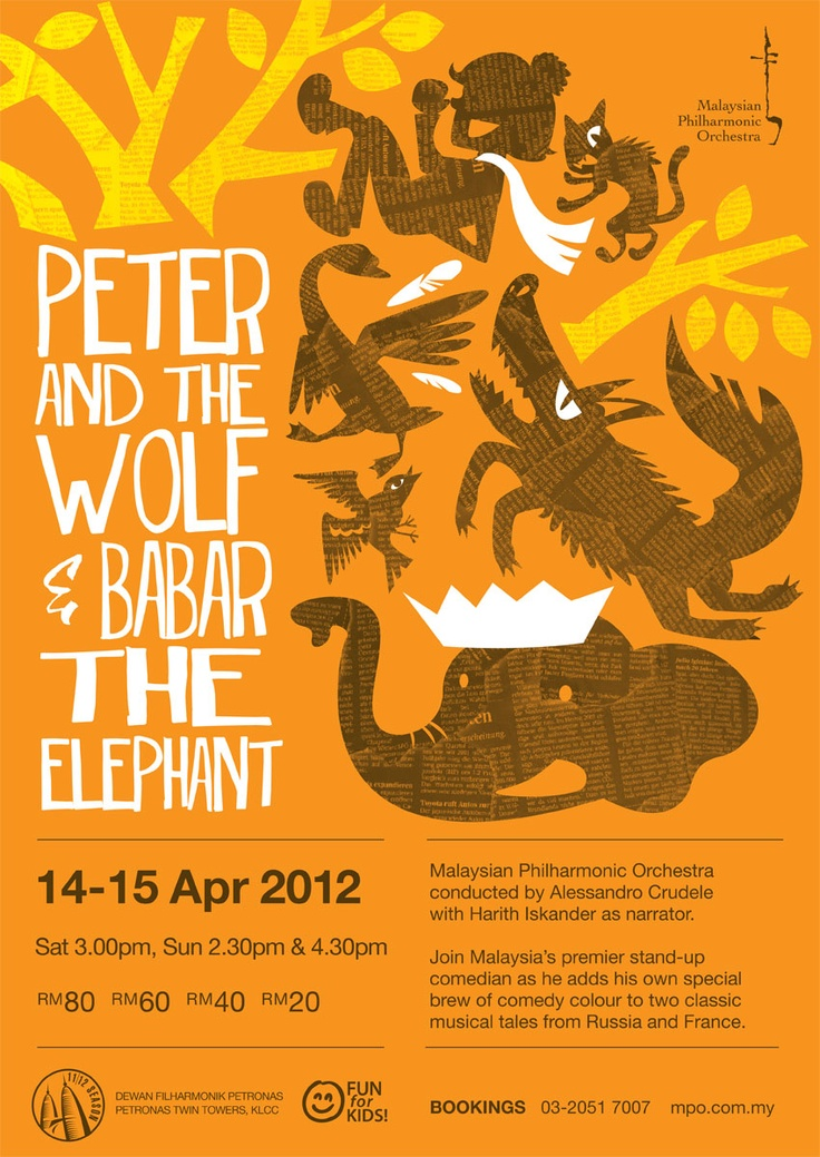 MPO presents : Peter and the Wolf & Babar the Elephant