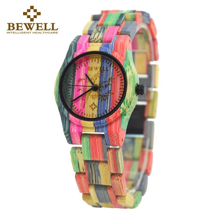 Fashion Statement Colourful Bamboo Wood Watch for Women //Price: $51.00 & FREE Shipping //     #gold #luxury #jewels