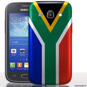 Coque Ace 4 Afrique du Sud - coque drapeau pour téléphone portable. #Coque #Samsung #ace #4 #drapeau #afrique #sud #flag #africa #cover #case