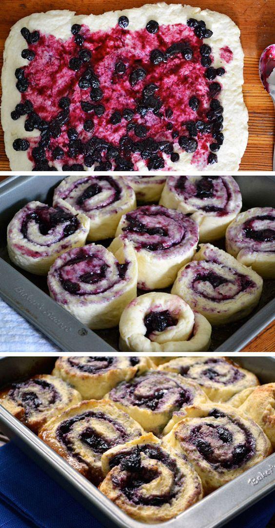 Saskatoon Berry & Honey Sticky Biscuits