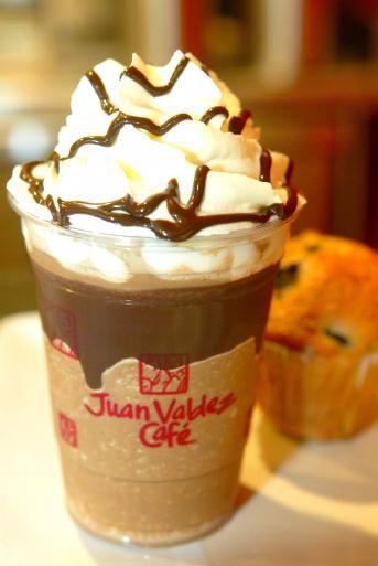 Nevado de brownie de Juan Valdez... El mejor del mundo. #PUCO3045