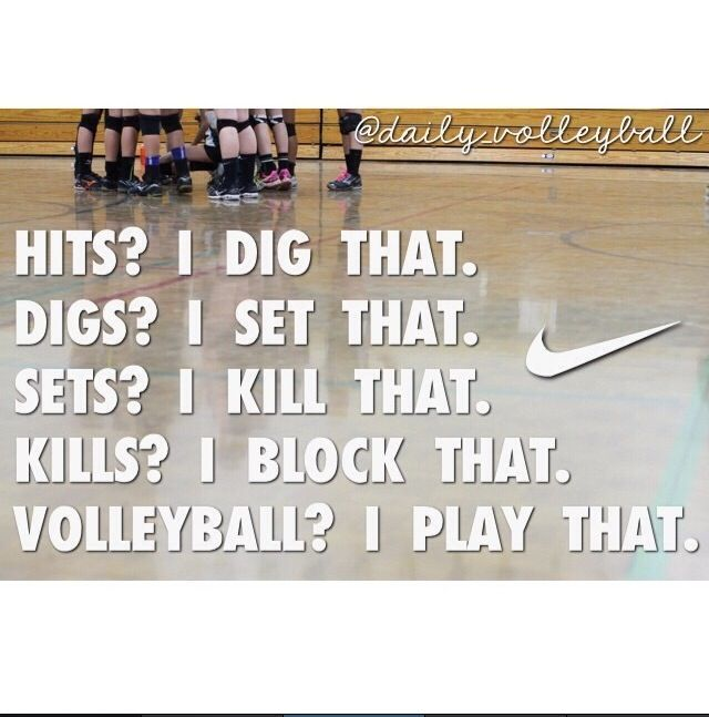 Best 25+ Inspirational Volleyball Quotes Ideas On Pinterest