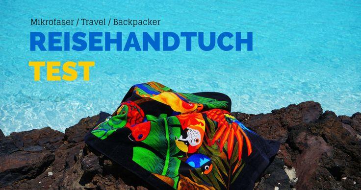 Schnelltrocknende Handtücher sind besonders unter Backpackern bliebt. Allerdings eignen sich die Mikrofaser Handtücher auch bestens für alle anderen Urlauber: http://flashpacking4life.de/schnelltrocknende-badetucher-test-mikrofaser-handtuch/