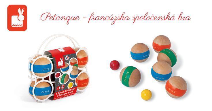 Vneste do svojho domova trochu francúzskeho šarmu a zahrajte si pétanque. Umiestnite gule čo najbližšie k cieľu, ktorý tvorí drevená gulička a máte vyhraté :) http://goo.gl/mRAcM9