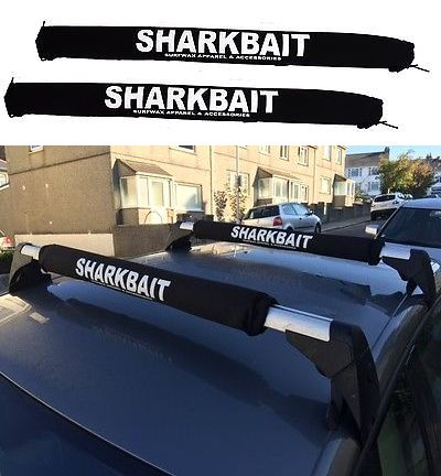 Car Racks 114254: 30 Inch Sharkbait Car Rack Pads, Black For 1 To 11/4 Cross Bars BUY IT NOW ONLY: $33.95