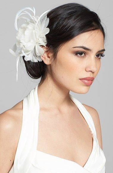 Free shipping and returns on J-PICONE 'Jane' Floral Fascinator at Nordstrom.com. Elegant feathers enhance the romance of a delicate floral fascinator embellished with sparkling crystals.