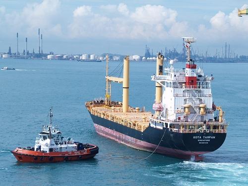Los grandes también necesitan a los pequeños. El remolcador de barcos es un magnífico ejemplo de ello.