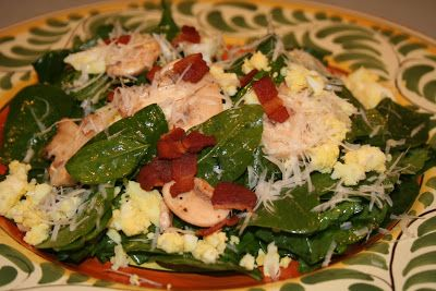 COOK WITH SUSAN: Spinach Salad with Warm Bacon Dressing