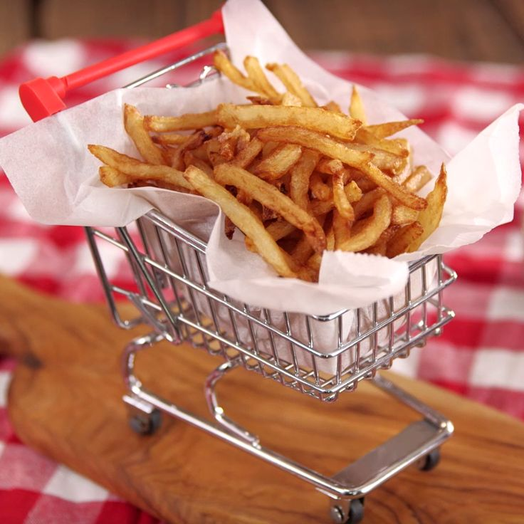 What's the secret to perfectly crispy french fries you ask? Watch and learn!