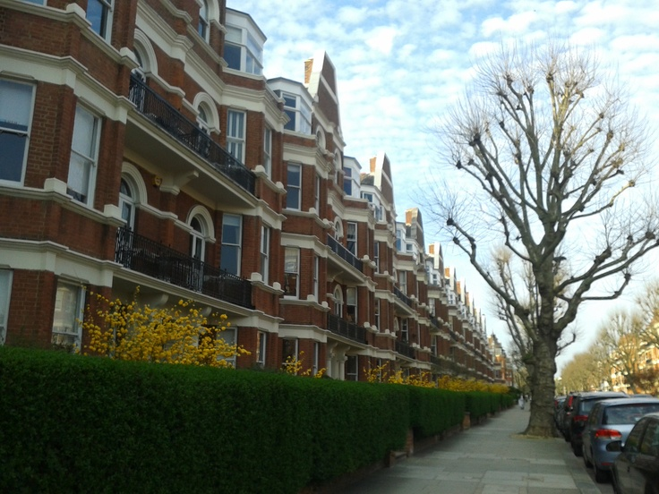 Where I used to live in Maida Vale. Pretty Elgin Avenue <3