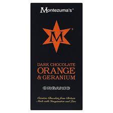 Tableta de Ciocolata Orange and Geranium #montezumas #ciocolata #portocale #orange #dulciuri #cadouri #ideicadouri