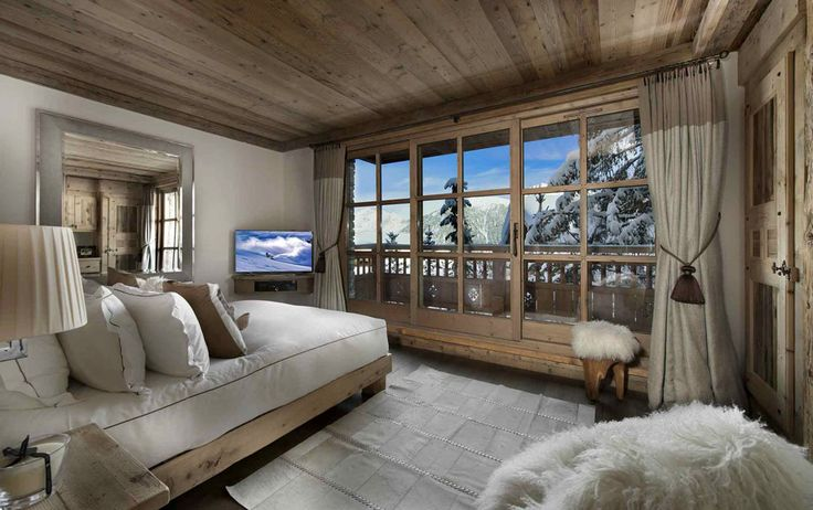 Chalet Pearl chambre 2 maison madrier