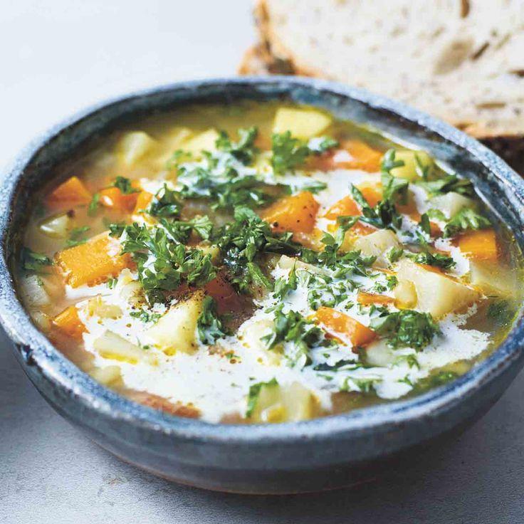 Lunch Ideas Jamie Oliver: Jamie's Swiss Barley Soup