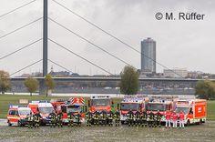 Wir haben für Euch die Feuerwehr- und Rettungsdienstfahrzeuge der BF Düsseldorf aufgelistet - inklusive der über 40 Abrollbehälter! [ID 134]