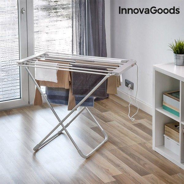 El mejor precio en Hogar 2017 en tu tienda favorita https://www.compraencasa.eu/es/secadoras-planchas-tendederos/89819-tendedero-electrico-plegable-innovagoods-100w-gris-6-barras.html