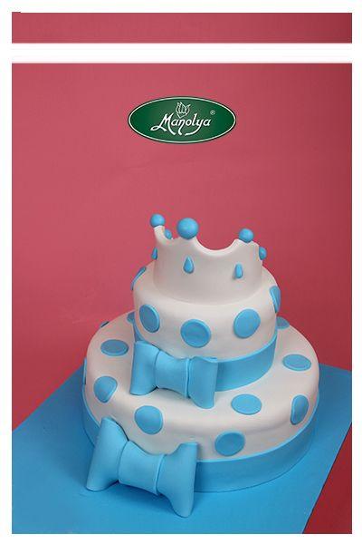 #manolyapastanesi  #patisserie  #istanbul  #cake  #cakedesign  #yummy  #delicious  #blue  #celebration #celebrationcake