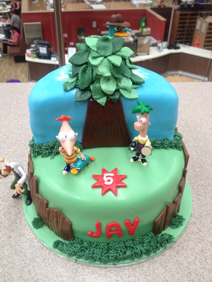Phineas & Ferb cake