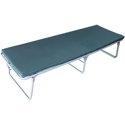 Wild Country Steel Folding Portable Bed - Single