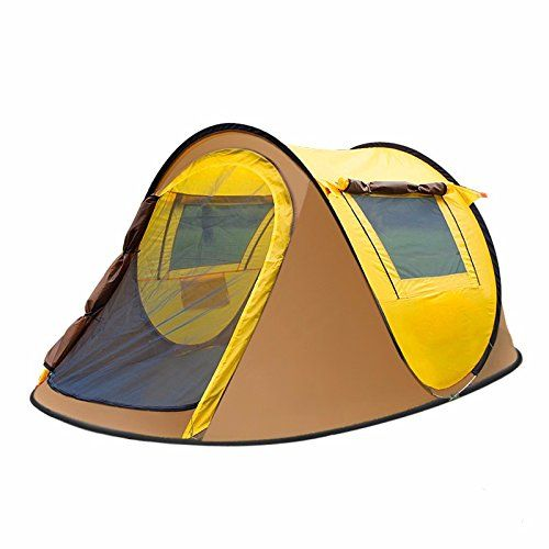 SSZJOutdoor automatic speed 2 seconds to open in autumn and winter camping double team rain warm tentsPackage ** See this great product.