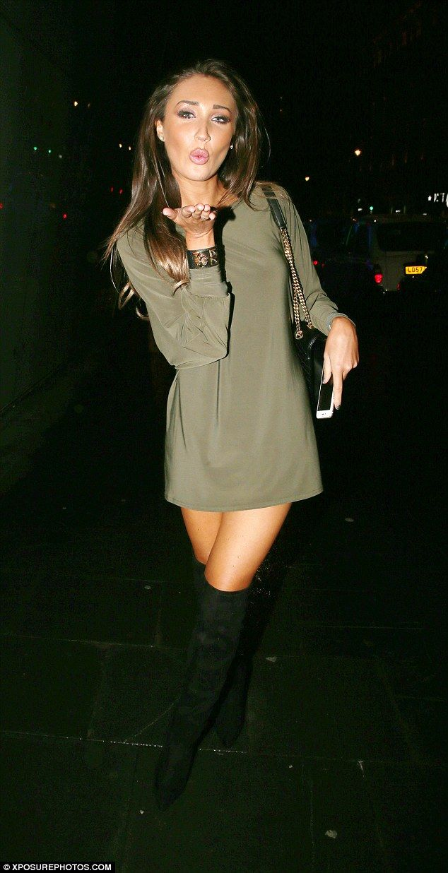 Back at it! The self-titled party girlenjoyed yet another night on the town on Tuesday as she partied at London's upscale W Hotel