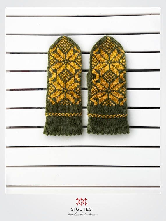 Hey, I found this really awesome Etsy listing at https://www.etsy.com/listing/547089006/hand-knitted-greenyellow-mittens-mimosa