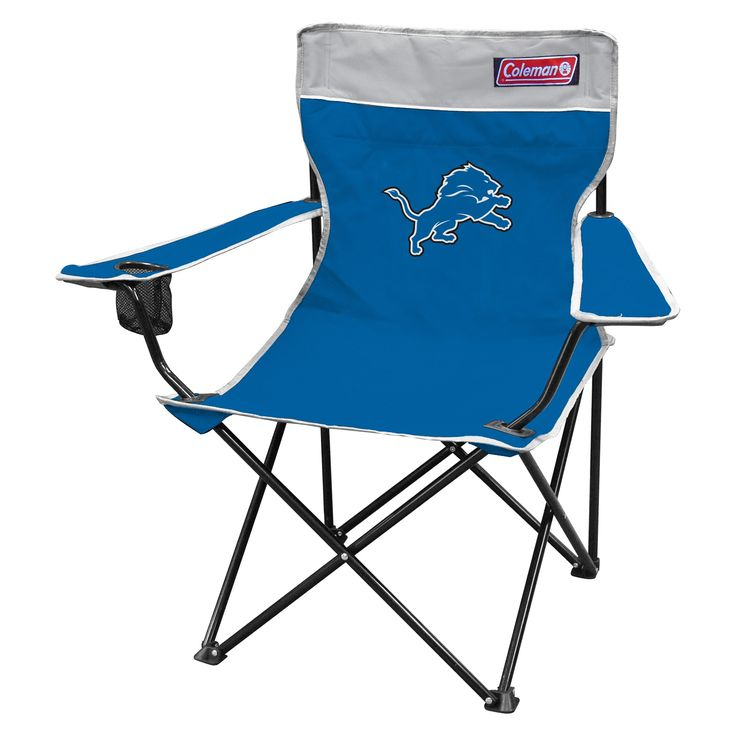 Coleman NFL Detroit Lions Quad Tailgate Chair