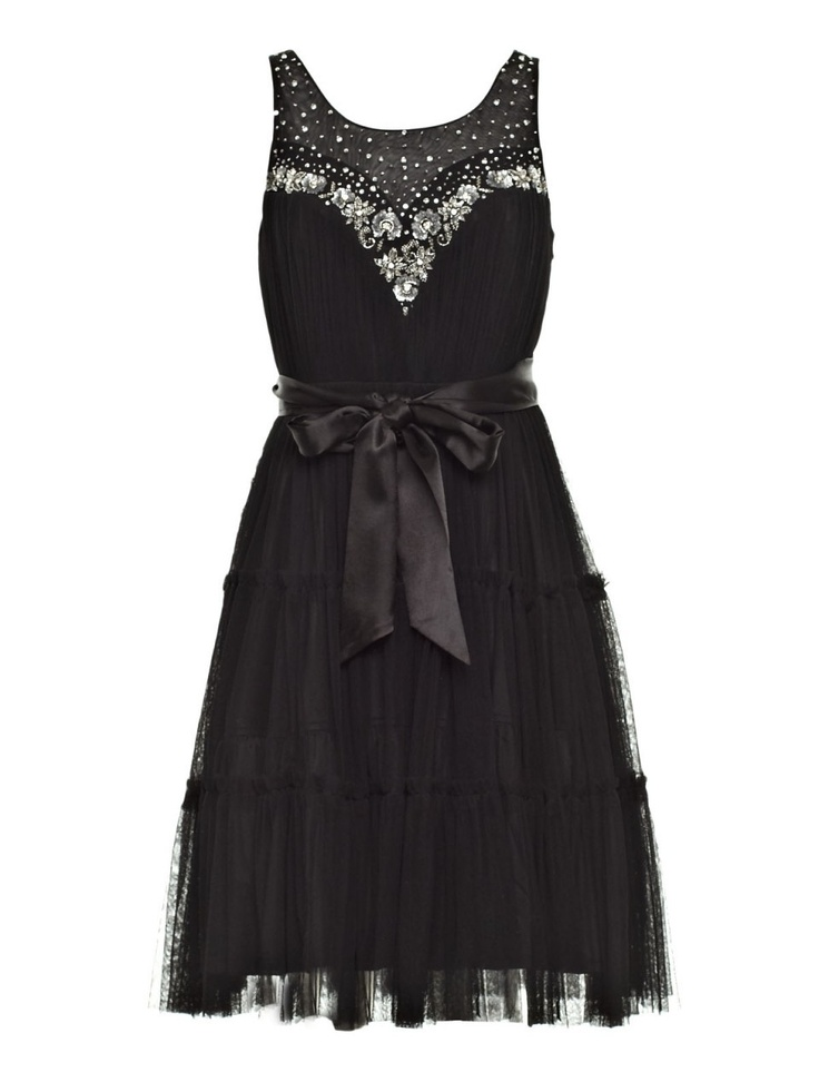 Charlie Brown - 'Smoke In The Air' Black Embellished Dress, $399.00 (http://shop.charliebrown.com.au/smoke-in-the-air-black-embellished-dress/)