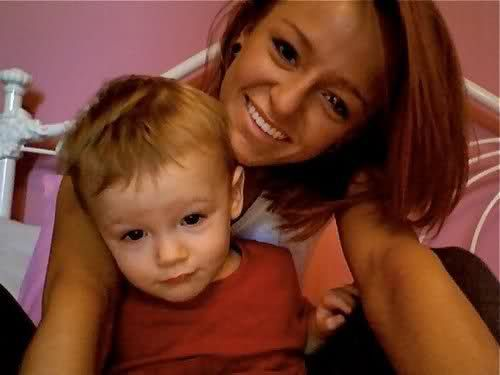 my favourtie teen mom <3 maci and bentley <333