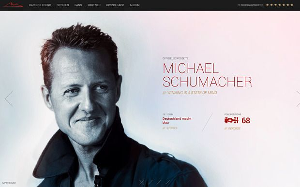 Michael Schumacher news: A year after coming out of coma there have been precious few signs of progress - Telegraph