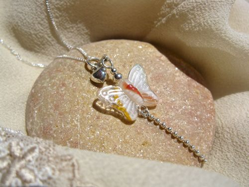 With this Butterfly necklace, you can spread your wings