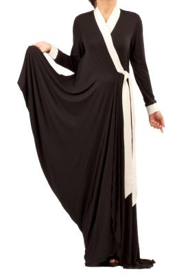 RABIA Z.  WRAP AROUND ABAYA