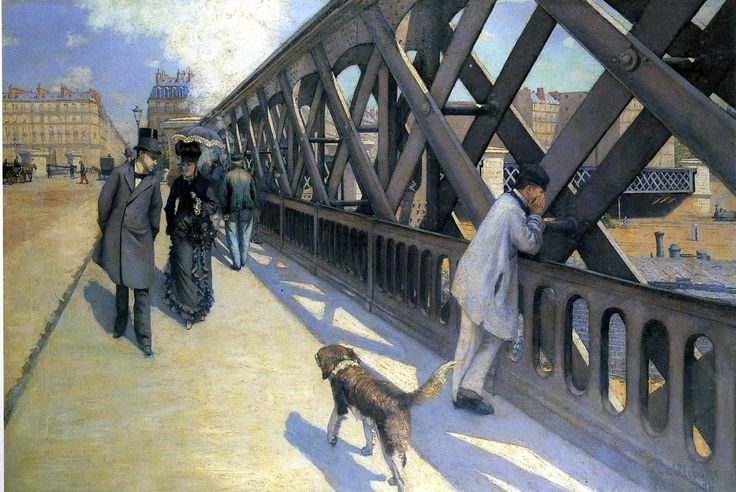 Gustave Caillebotte (1848 .. 1894). Le Pont de I'Europe