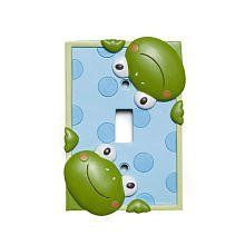 Little Boutique Switch Plate Cover - Frog by Little Boutique. $18.03. Fits all standard switch plates.. Product Dimensions(in inches)6.2 x 4.3 x 1.2. Add a personal touch to your nursery with this little boutique frog decorative switch plate.