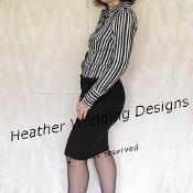 Pants to Skirt Tutorial - via @Craftsy