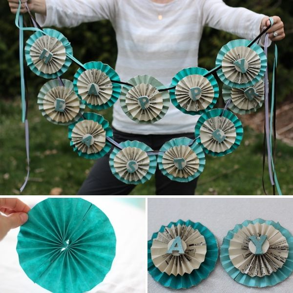 25 Best Ideas About Paper Banners On Pinterest Paper Fan Decorations Paper Pinwheels And Diy