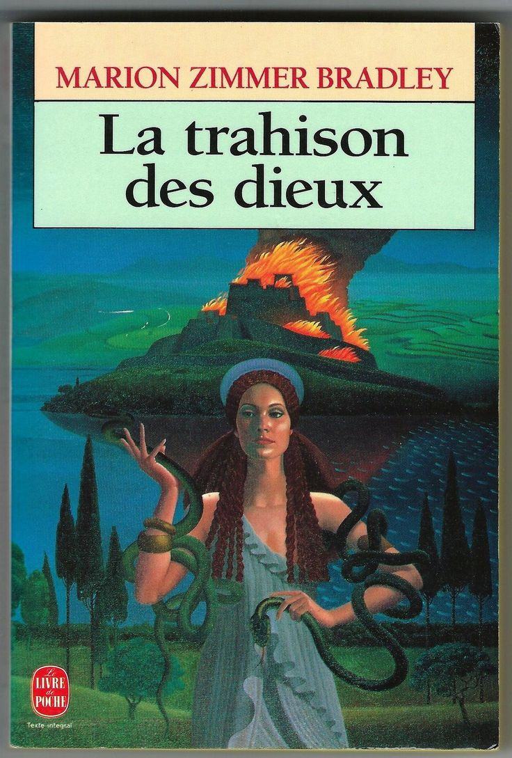 Marion Zimmer Bradley Firebrand Trahison Des Dieux French Book TPB 1991