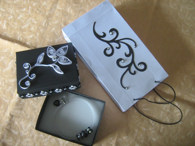 Packaging con quilling