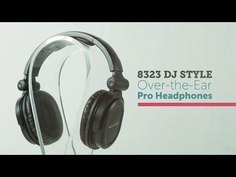 Très recommandéPremium Hi-Fi DJ Style Over-the-Ear Pro Headphone - Monoprice.com