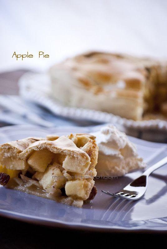 Mon petit bistrot: Apple Pie