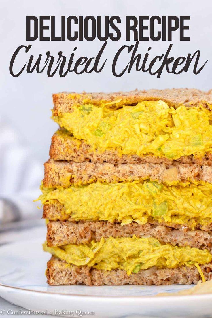 Mar 17, 2020 – Curried Chicken Salad Recipe, #Chicken #chickensaladrecipe #Curried #Recipe #Salad