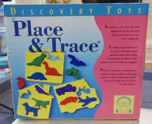 New-Discovery-Toys-Place-And-Trace-Puzzle-Stencil-Drawing-Learning-Toy